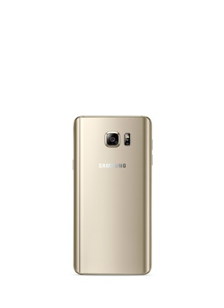 Figure View - Click To Enlarge - Samsung - Galaxy Note5 32GB - Gold Platinum