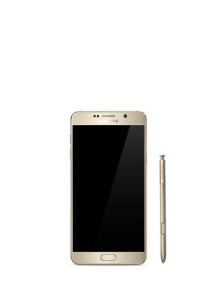 Main View - Click To Enlarge - Samsung - Galaxy Note5 64GB - Gold Platinum