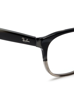 Detail View - Click To Enlarge - RAY-BAN - 'RB5340' tortoiseshell ombré effect acetate optical glasses