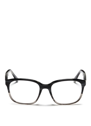 Main View - Click To Enlarge - RAY-BAN - 'RB5340' tortoiseshell ombré effect acetate optical glasses