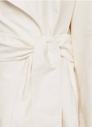 Detail View - Click To Enlarge - The Row - 'Harding' cotton gabardine trench coat