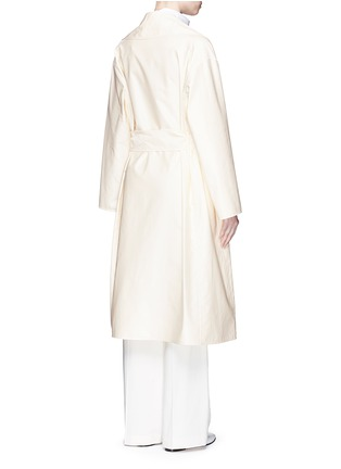 Back View - Click To Enlarge - The Row - 'Harding' cotton gabardine trench coat