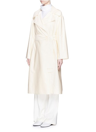 Figure View - Click To Enlarge - The Row - 'Harding' cotton gabardine trench coat