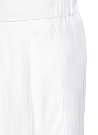 Detail View - Click To Enlarge - The Row - 'Daray' twill wide leg pants
