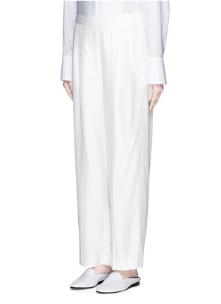 Front View - Click To Enlarge - The Row - 'Daray' twill wide leg pants