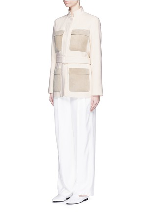 Figure View - Click To Enlarge - The Row - 'Daray' twill wide leg pants