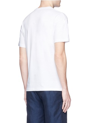 Back View - Click To Enlarge - KINFOLK - Logo print T-shirt