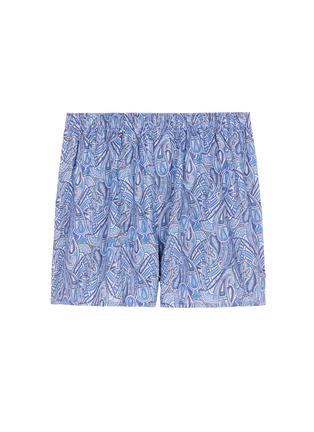 Main View - Click To Enlarge - Sunspel - Liberty paisley print boxer shorts