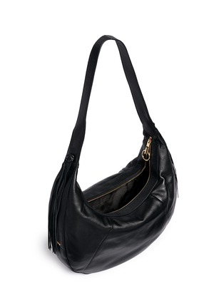 Detail View - Click To Enlarge - Elizabeth and James - 'Zoe' large leather hobo bag