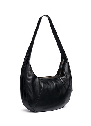 Front View - Click To Enlarge - Elizabeth and James - 'Zoe' large leather hobo bag