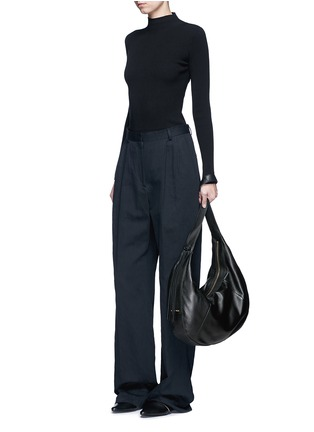 Figure View - Click To Enlarge - Elizabeth and James - 'Zoe' large leather hobo bag