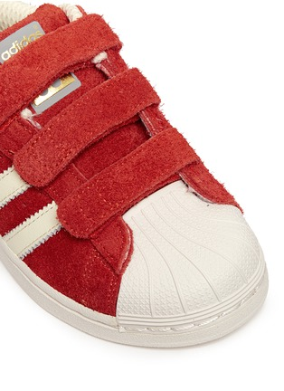 Detail View - Click To Enlarge - Bonpoint - x adidas 'Superstar' leather kids sneakers