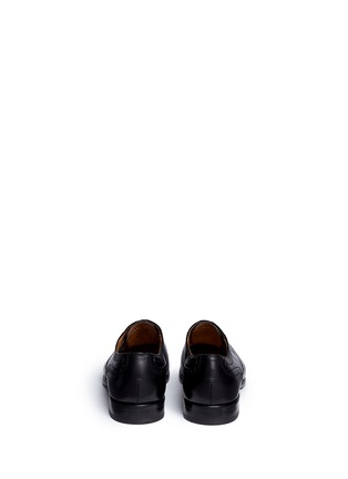 Back View - Click To Enlarge - Rolando Sturlini - 'Parma' full brogue leather Oxfords