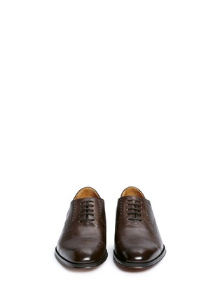 Front View - Click To Enlarge - Rolando Sturlini - 'Alameda' Richelieu brogue leather Oxfords