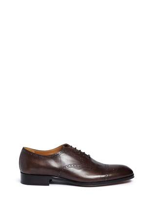 Main View - Click To Enlarge - Rolando Sturlini - 'Alameda' Richelieu brogue leather Oxfords