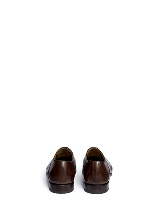 Back View - Click To Enlarge - Rolando Sturlini - 'Parma' perforated leather Oxfords