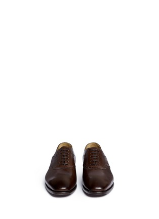 Front View - Click To Enlarge - Rolando Sturlini - 'Parma' perforated leather Oxfords