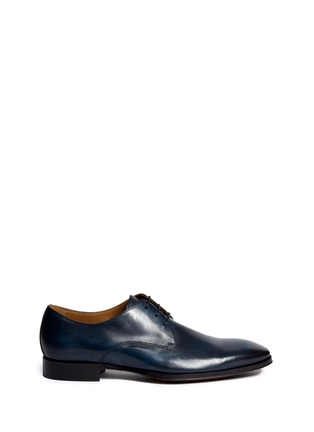 Main View - Click To Enlarge - ROLANDO STURLINI - 'Alameda' burnished leather Derbies