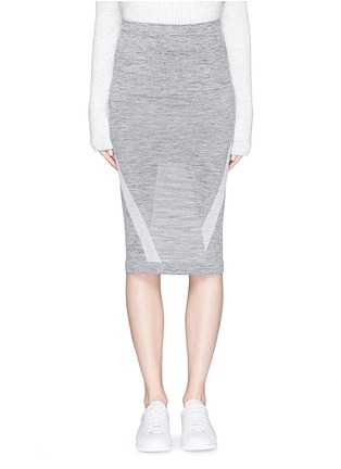 Main View - Click To Enlarge - LNDR - 'Compass' circular knit skirt