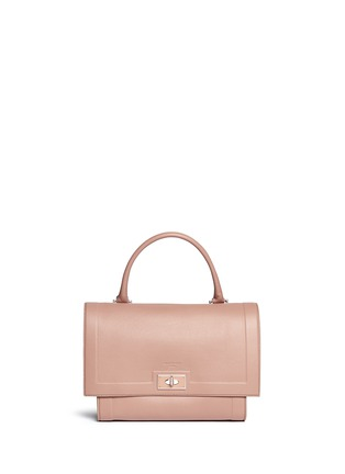 Main View - Click To Enlarge - Givenchy - 'Shark' small leather shoulder bag