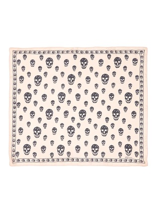 Main View - Click To Enlarge - Alexander McQueen - Classic skull silk chiffon scarf