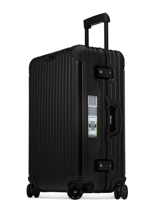 - RIMOWA - TOPAS STEALTH MULTIWHEEL® WITH ELECTRONIC TAG (BLACK, 67-LITRE)