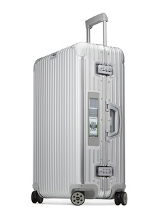 RIMOWA TOPAS MULTIWHEEL® WITH ELECTRONIC TAG (SILVER, 82-LITRE)