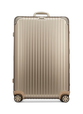 Main View - Click To Enlarge - RIMOWA - TOPAS TITANIUM MULTIWHEEL® WITH ELECTRONIC TAG (TITANIUM, 82-LITRE)