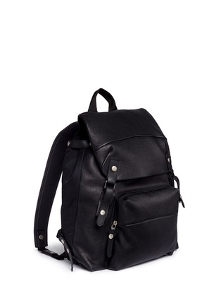 Front View - Click To Enlarge - Lanvin - Natural grain leather backpack
