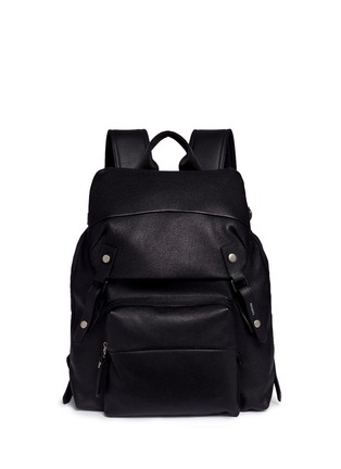 Main View - Click To Enlarge - Lanvin - Natural grain leather backpack