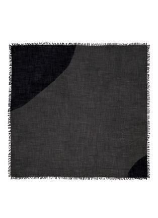Main View - Click To Enlarge - Faliero Sarti - Circle colourblock virgin wool-silk scarf