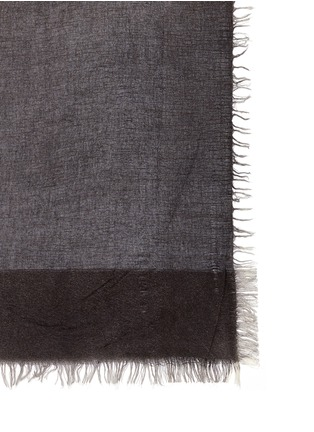 Detail View - Click To Enlarge - Faliero Sarti - Ombré silk-virgin wool-cashmere scarf