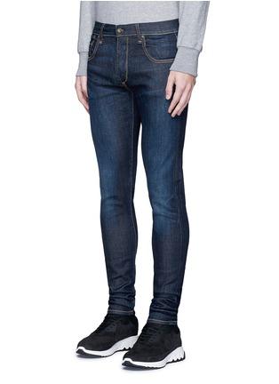 Front View - Click To Enlarge - rag & bone - 'Fit 1' dark wash skinny jeans