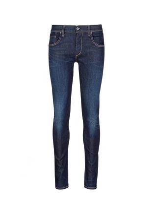 Main View - Click To Enlarge - RAG & BONE - 'Fit 1' dark wash skinny jeans