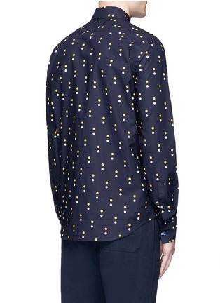 Back View - Click To Enlarge - Marni - Dot print cotton shirt