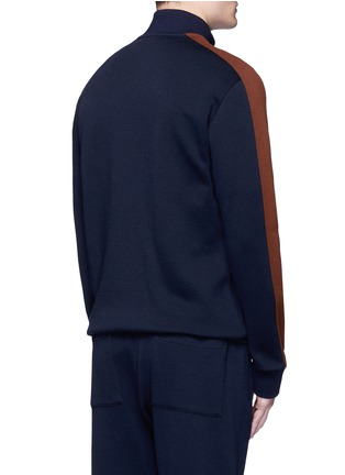 Back View - Click To Enlarge - Marni - Contrast sleeve track jacket