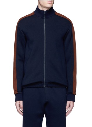 Main View - Click To Enlarge - Marni - Contrast sleeve track jacket