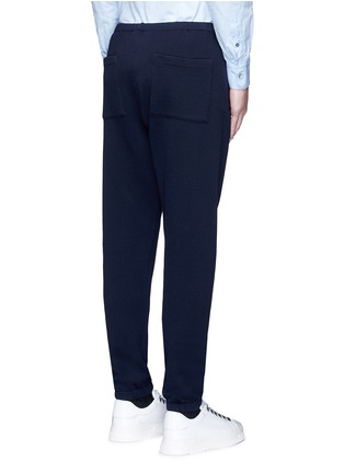 Back View - Click To Enlarge - Marni - Elastic waist and cuff jogging pants
