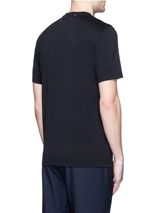 Back View - Click To Enlarge - Maison Margiela - Cycling print cotton T-shirt