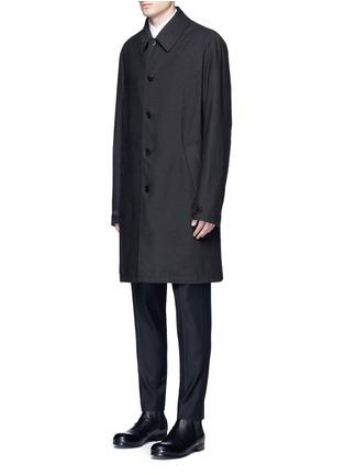 Front View - Click To Enlarge - Maison Margiela - Zip vent car coat