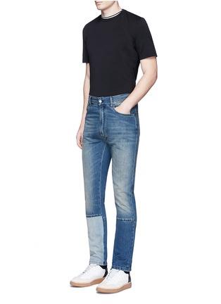Figure View - Click To Enlarge - Maison Margiela - Neck strap cotton T-shirt