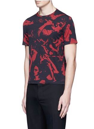 Front View - Click To Enlarge - Maison Margiela - Concert print cotton T-shirt