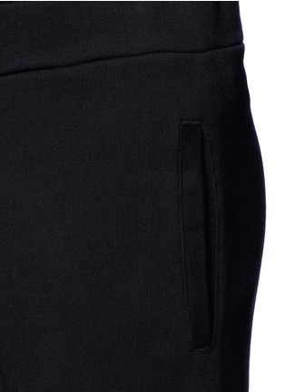 Detail View - Click To Enlarge - MAISON MARGIELA - Rib cuff jogging pants