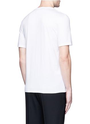 Back View - Click To Enlarge - Maison Margiela - Concert print cotton T-shirt