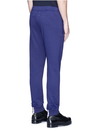 Back View - Click To Enlarge - Maison Margiela - Zip cuff jogging pants