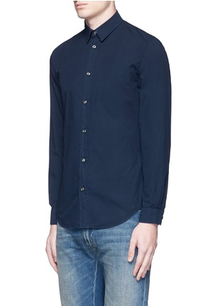 Front View - Click To Enlarge - Maison Margiela - Garment dyed cotton shirt