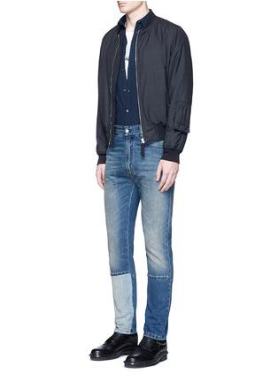 Figure View - Click To Enlarge - Maison Margiela - Garment dyed cotton shirt