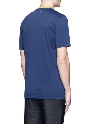 Back View - Click To Enlarge - Maison Margiela - Polaroid print T-shirt