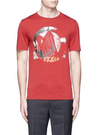 Main View - Click To Enlarge - Maison Margiela - Concert print cotton T-shirt