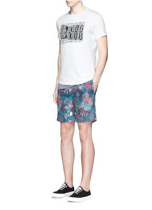 Figure View - Click To Enlarge - Orlebar Brown - 'OB-T Aboriginal' geometric print T-shirt